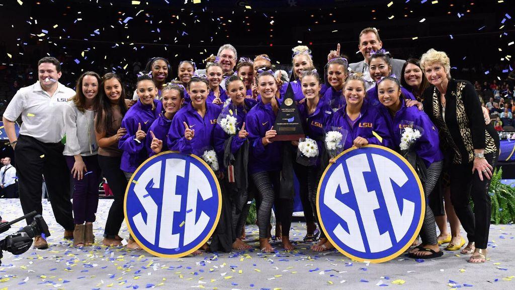 LSU wins SEC Gymnastics Championship