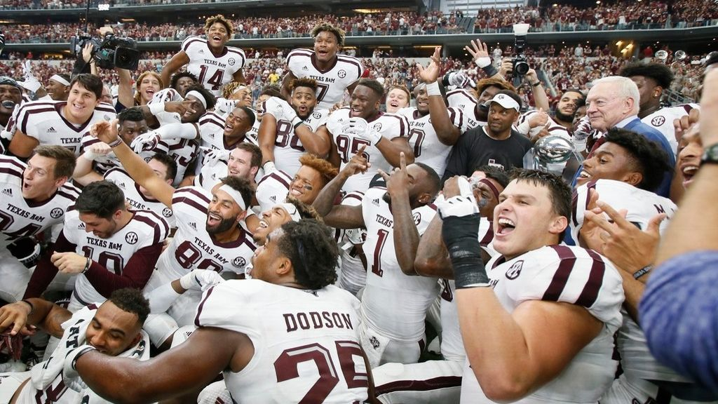 Texas A&M outlasts Arkansas in overtime
