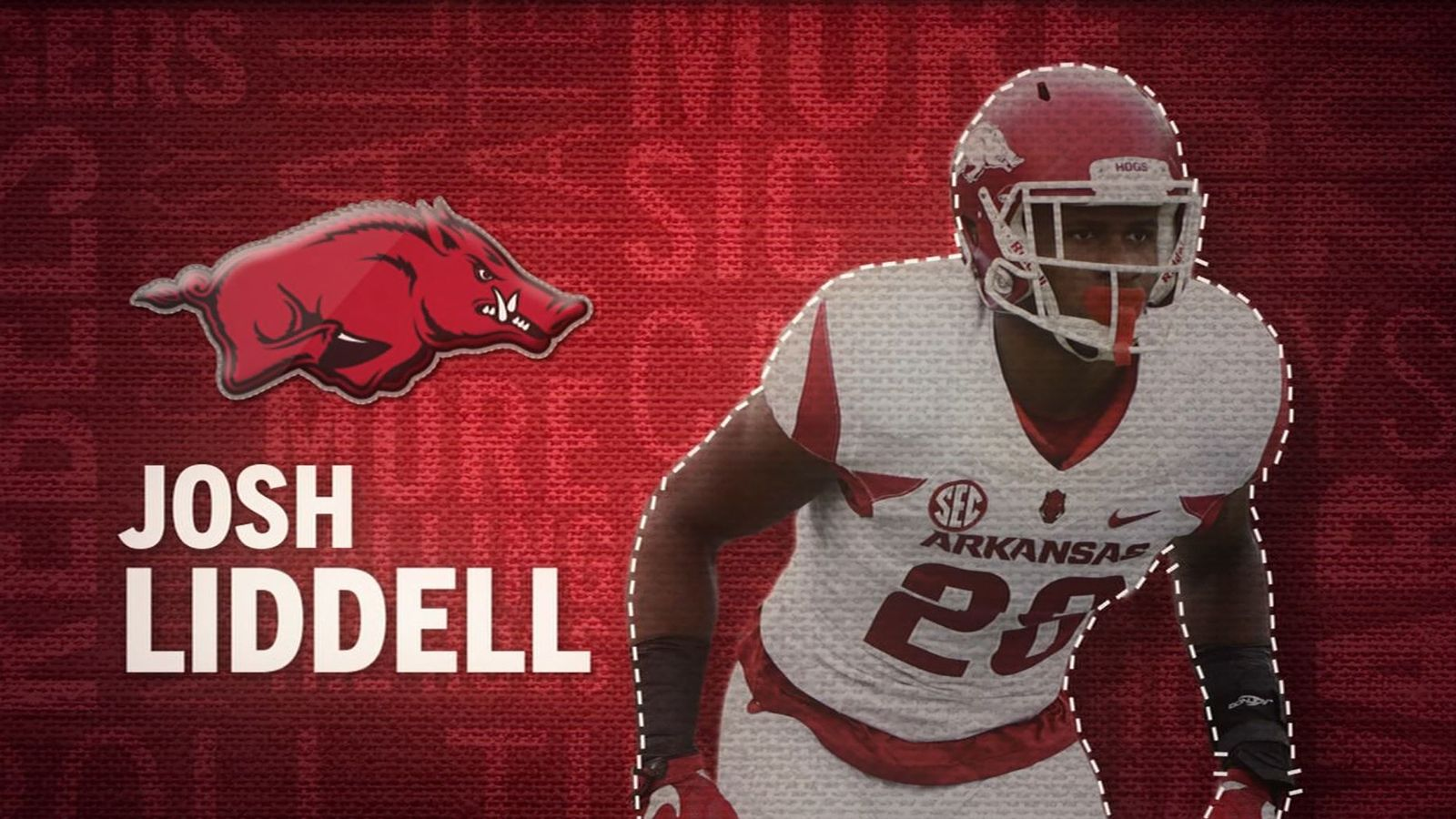 I am the SEC: Arkansas' Josh Liddell