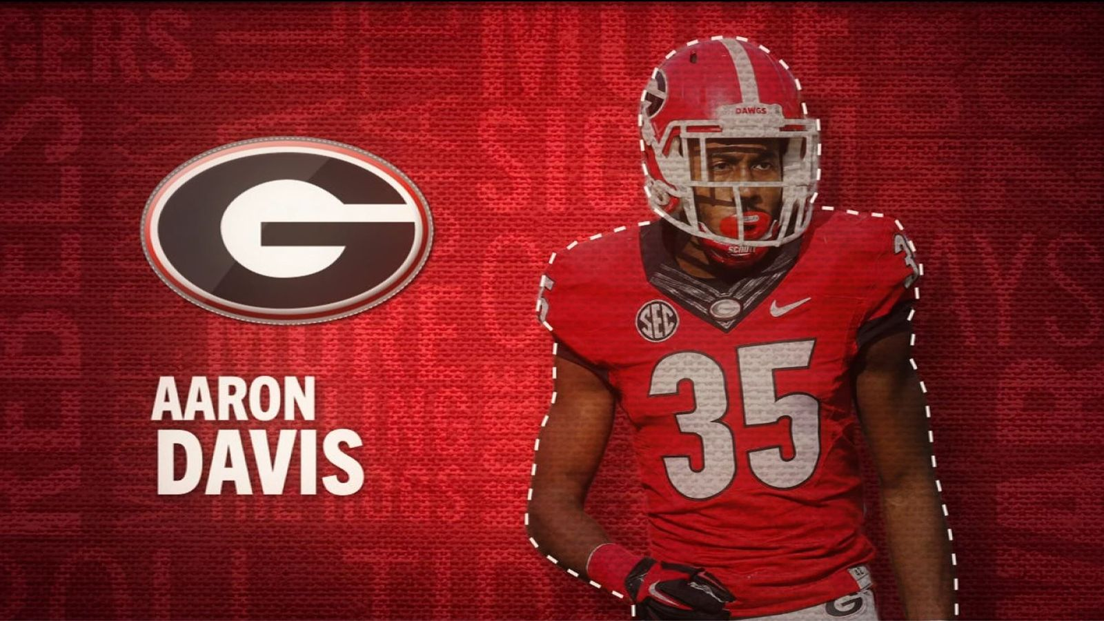 I am the SEC: Georgia's Aaron Davis