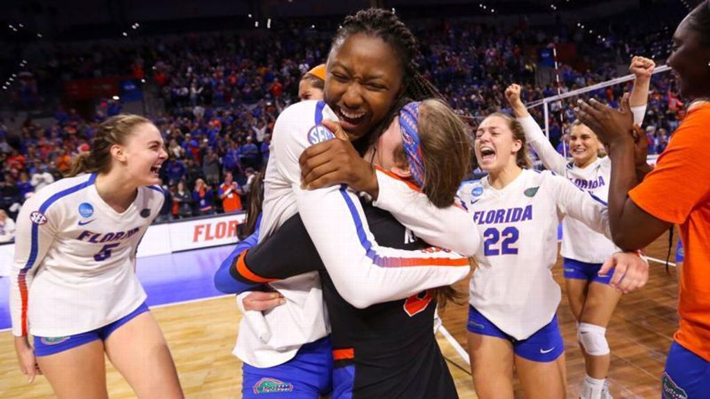 No. 2 Florida wins five-set thriller vs. No. 3 Stanford