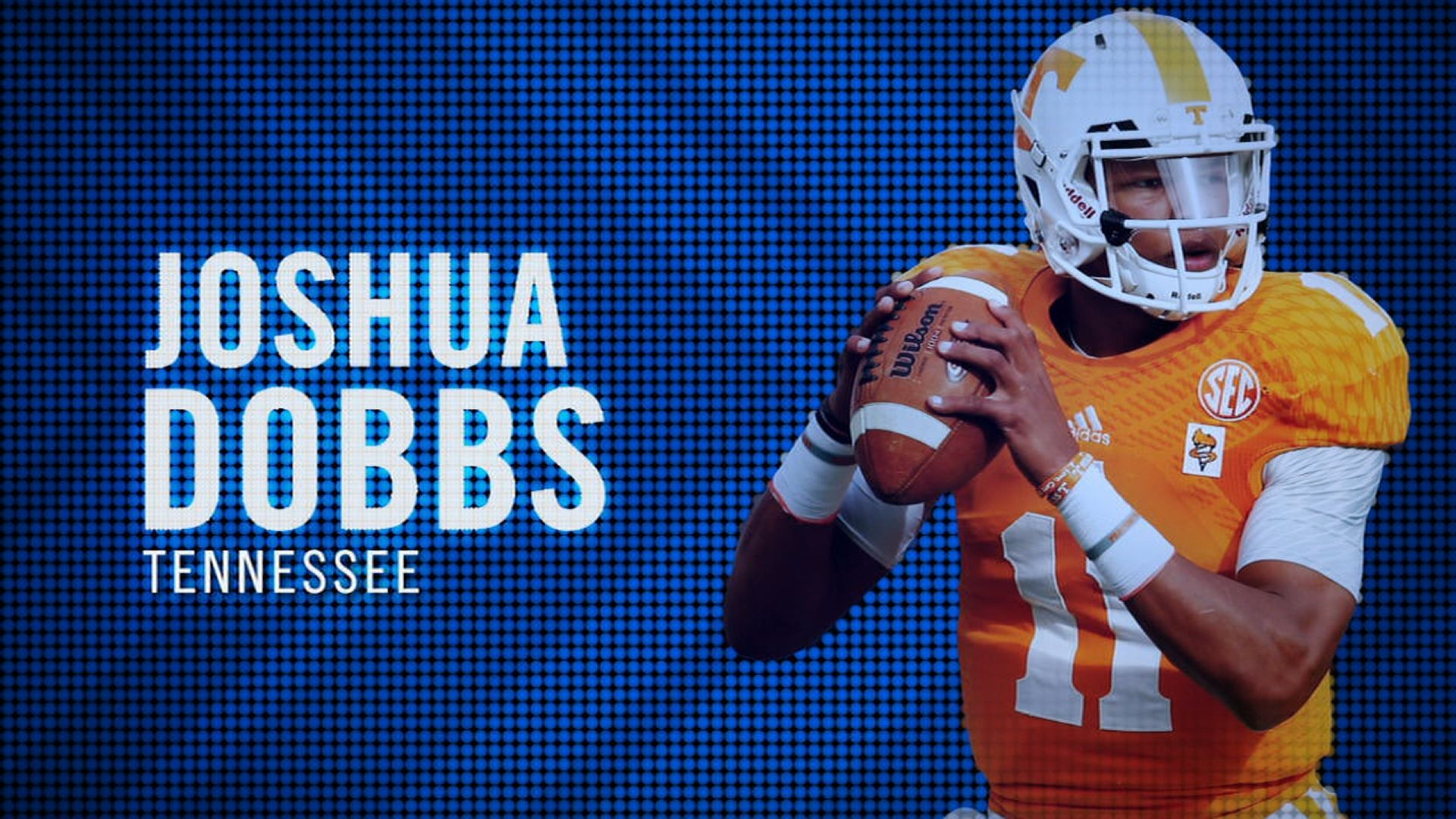 I am the SEC: Tennessee's Joshua Dobbs