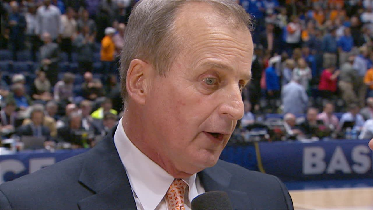 Postgame Interview with TENN head coach Rick Barnes.