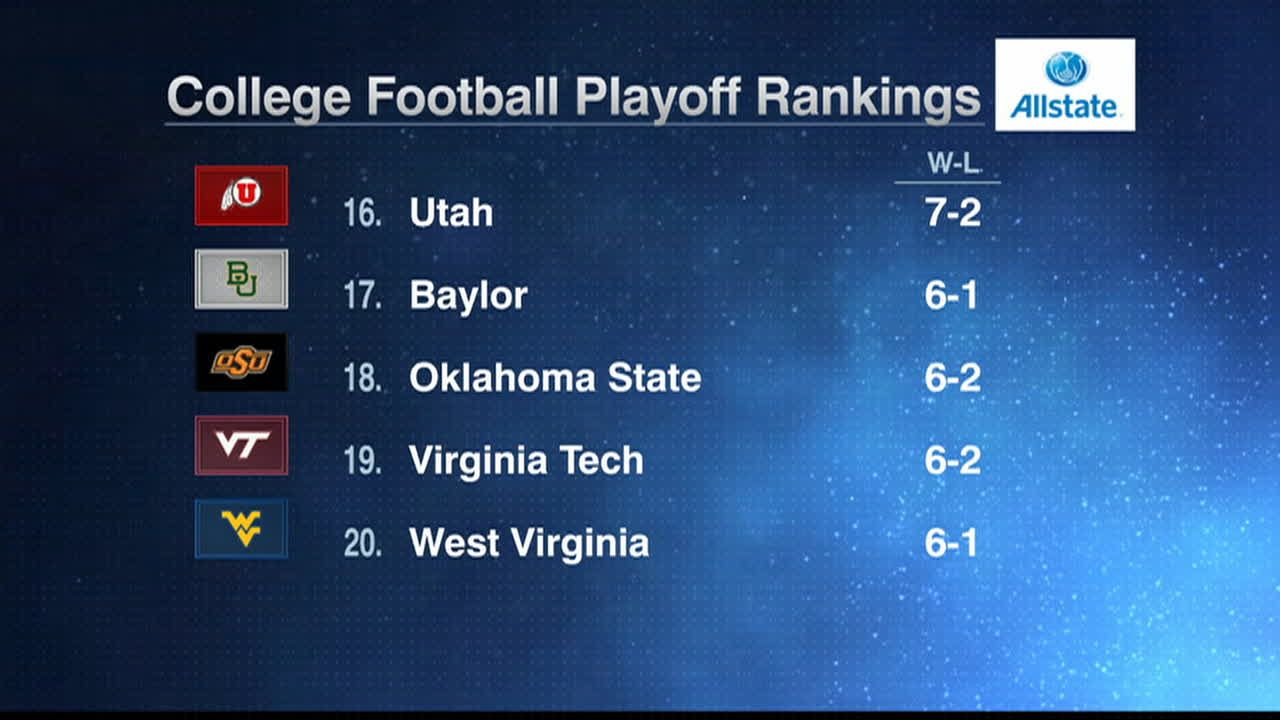 top 25 scores in college football espn football playoffs
