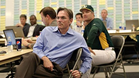 What are the reasons for the A's success in Moneyball?
