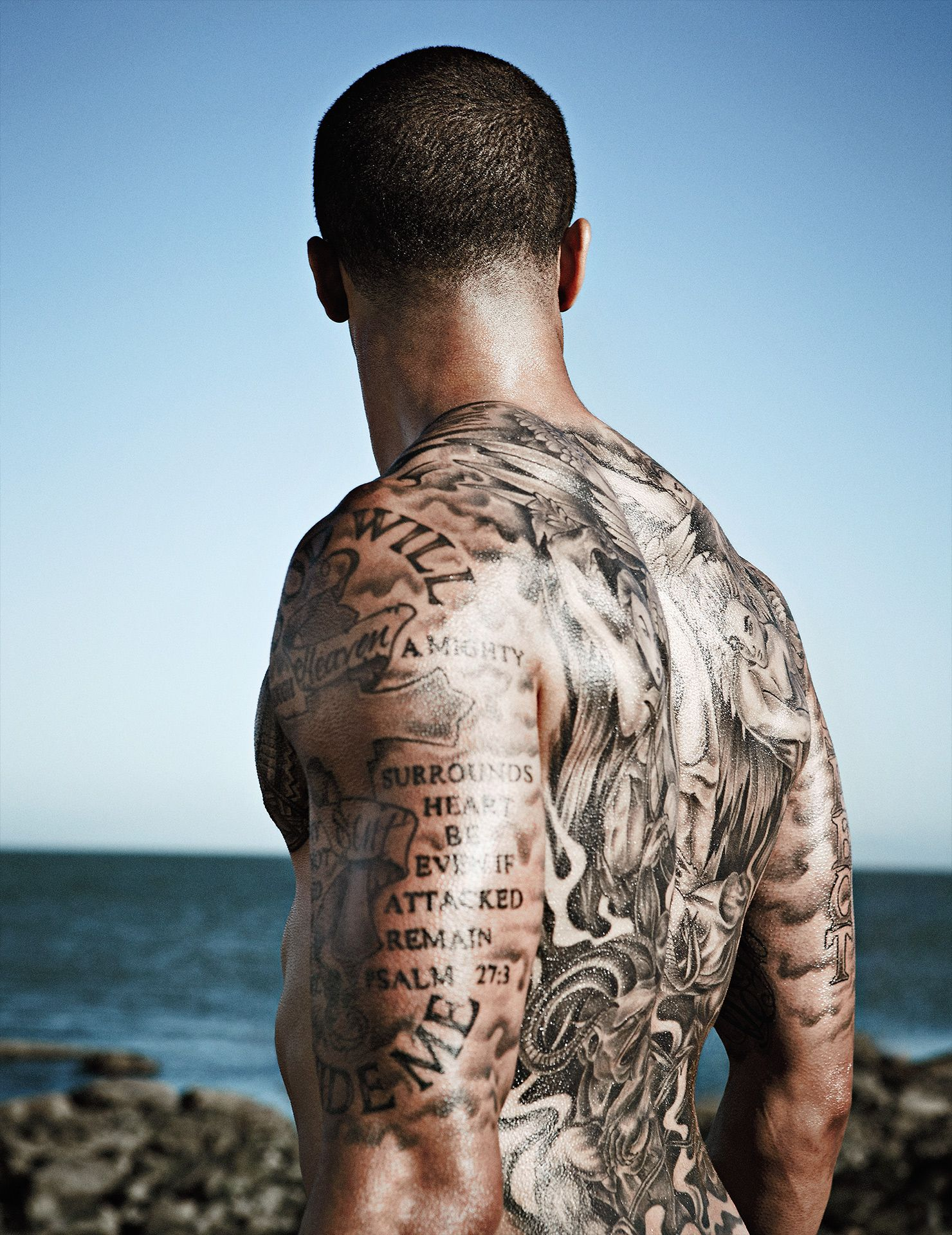 Colin Kaepernick Goes Bare For ESPN's Body Issue