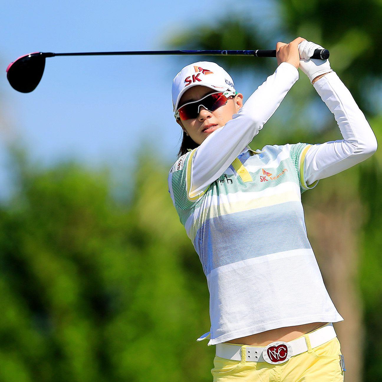 Na Yeon Choi leads Bahamas  Na Yeon Choi Swing
