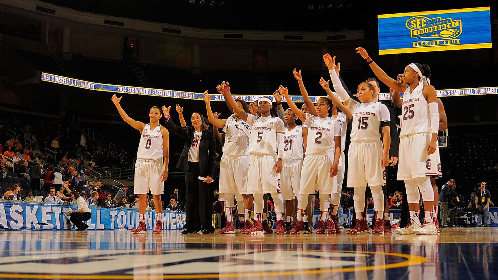 South Carolina tabbed as 2015 SEC WBB Champion