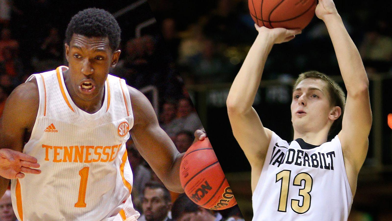 Tennessee's Josh Richardson and Vanderbilt's LaChance earn weekly SEC basketball honors