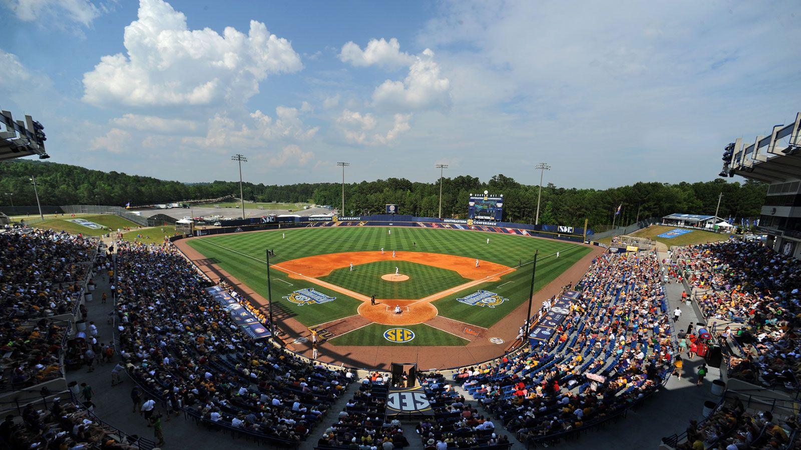 SEC Baseball Tournament Central