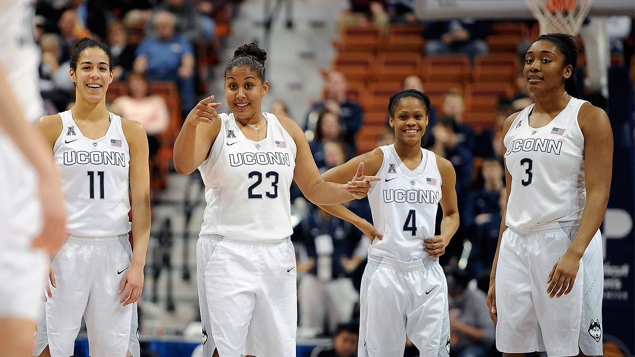 2015 NCAA tournament -- Connecticut Huskies named top overall seed