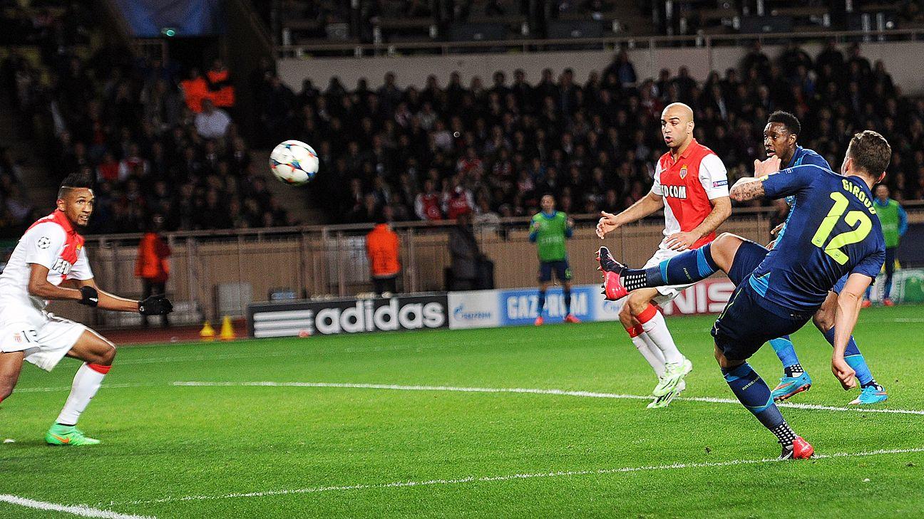 Date Match Monaco Arsenal