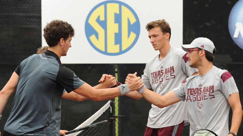 Aggies advance to SEC Championship