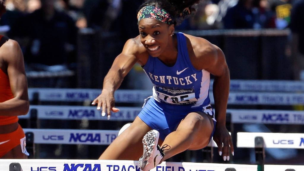 UK's Kendra Harrison named an NCAA Top-10 winner