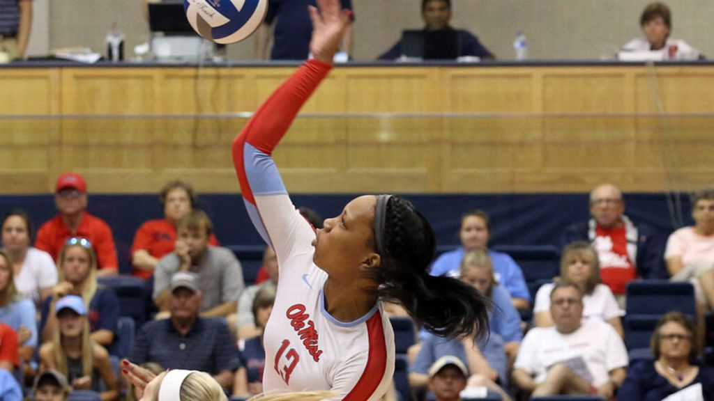 Nakeyta Clair named SEC Volleyball Player of the Week