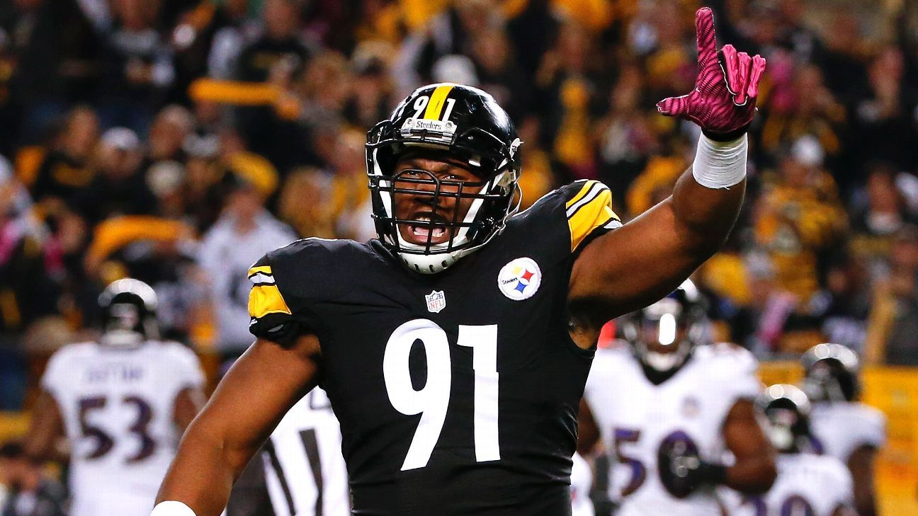 Stephon Tuitt of Pittsburgh Steelers avoids major biceps injury