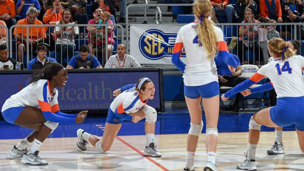 Florida defeats LIU Brooklyn in straight sets