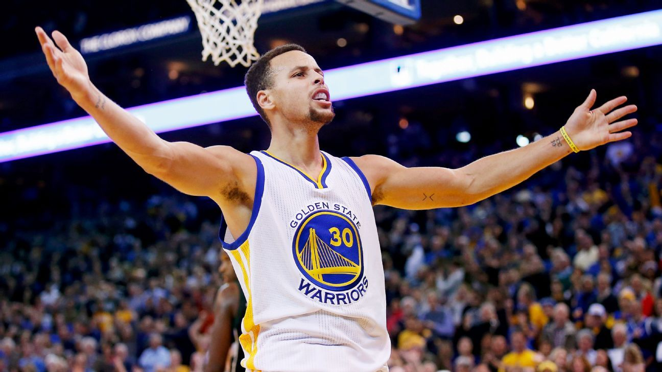 Stephen Curry putting up better than video game numbers ...