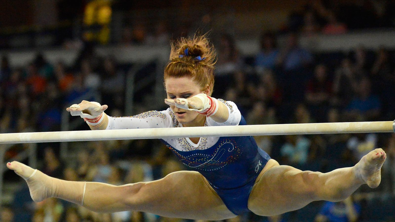 No 1 Florida Gymnastics Tops No 8 Auburn