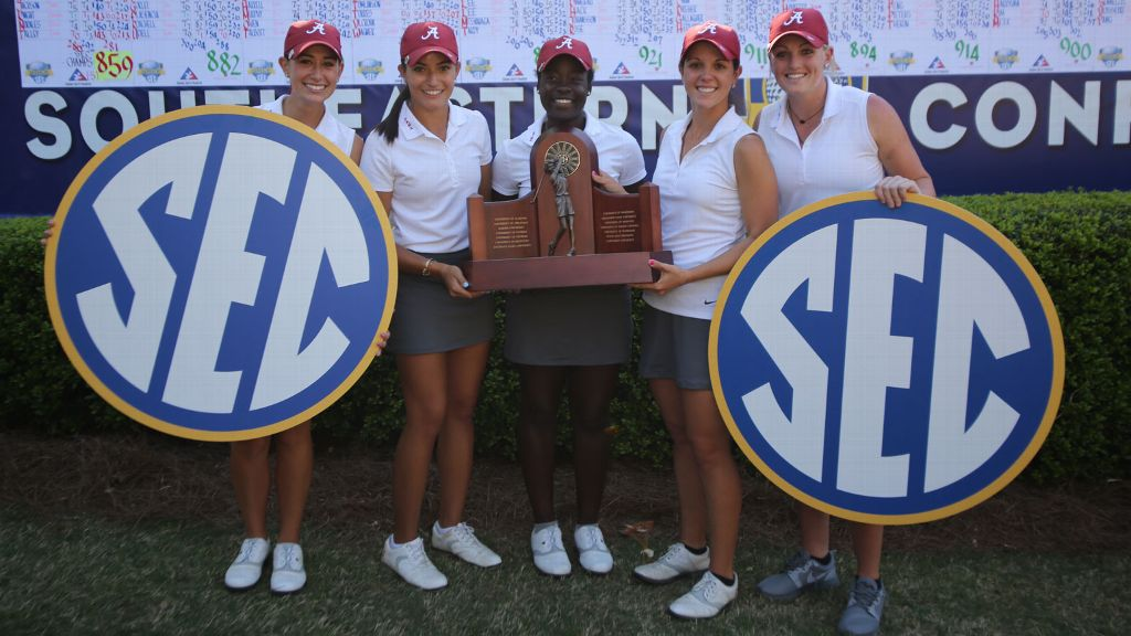 Alabama wins SEC Women's Golf Championship