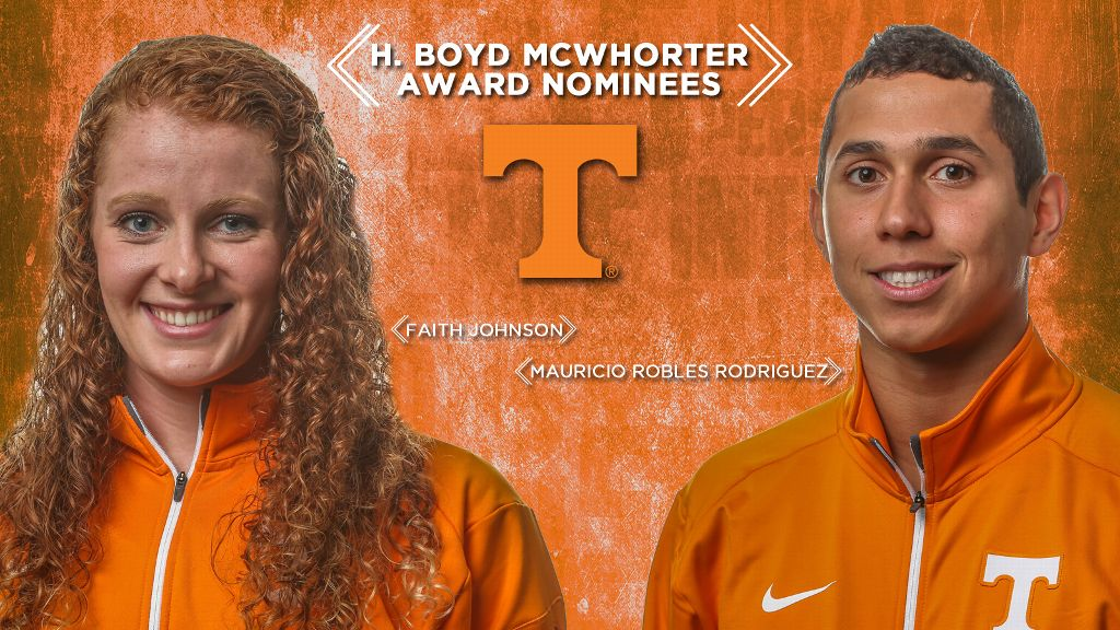 Robles Rodriguez, Johnson nominated for McWhorter Award