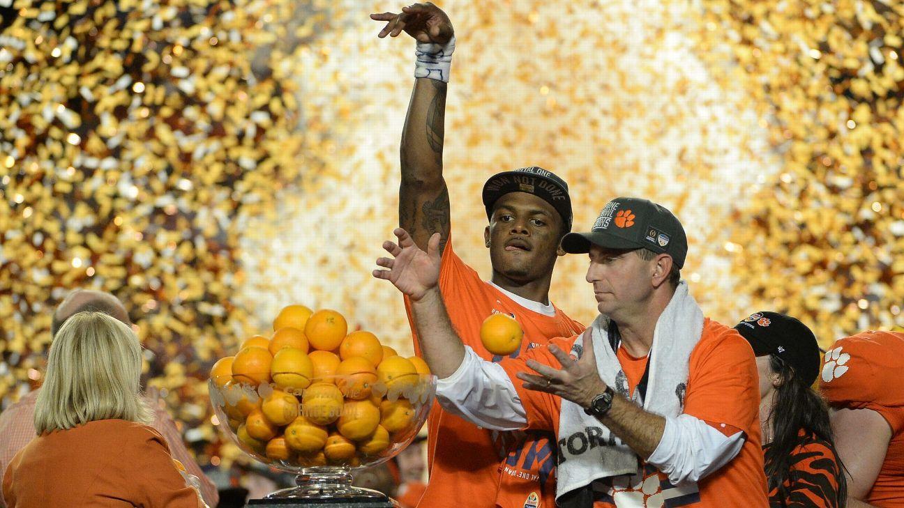 ncaa football championship score espn picks college football