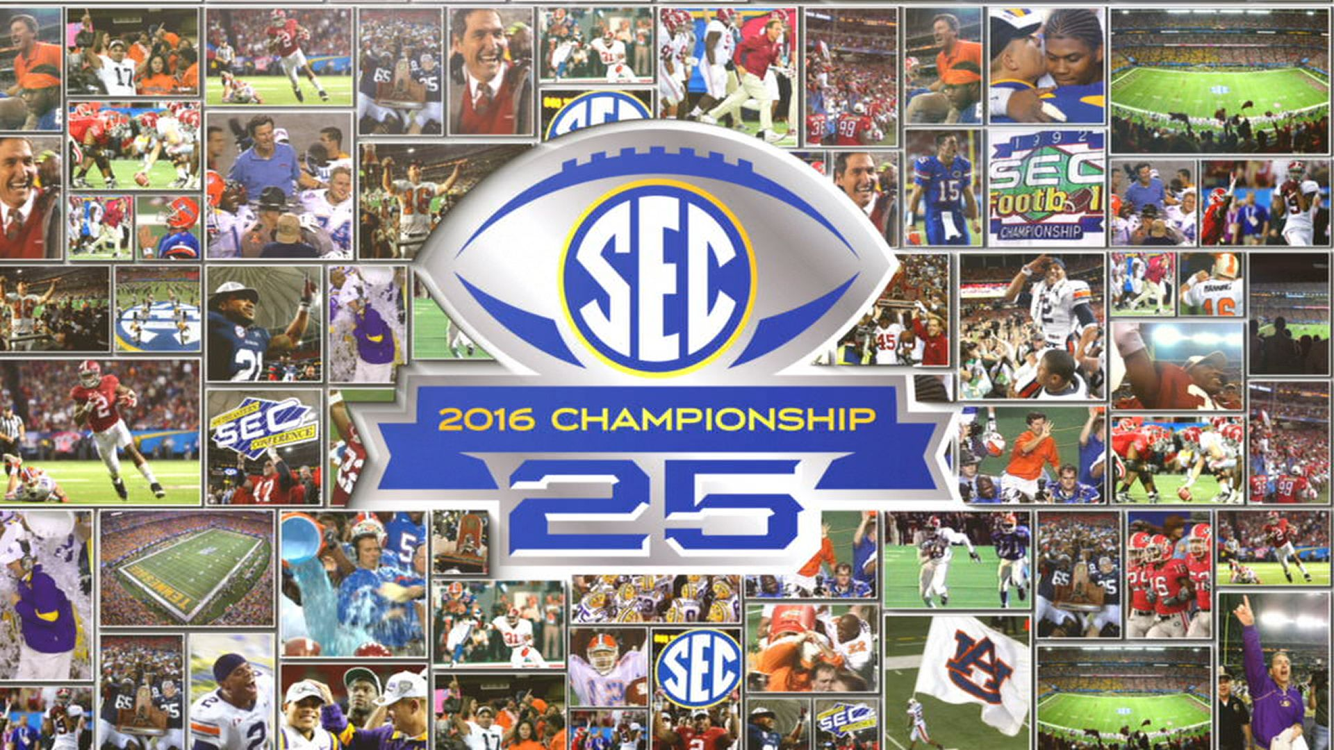 Celebrating 25 years of the SEC Championship