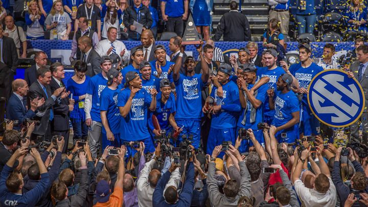 Media picks Kentucky to win 2017 SEC Championship