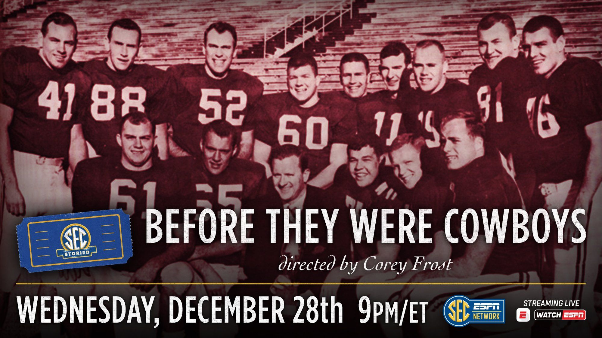 SEC Storied continues with 'Before They Were Cowboys'