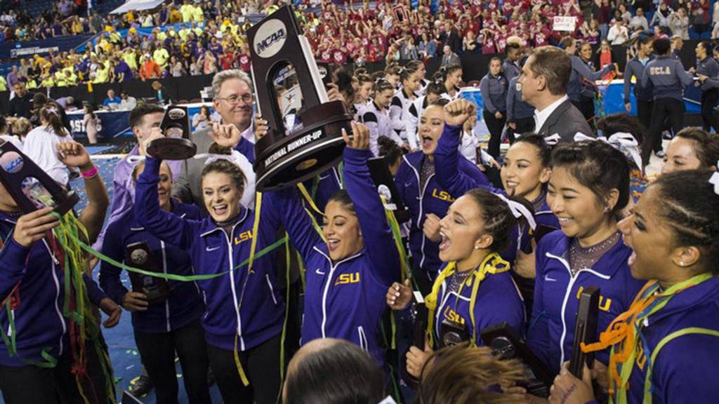 All eight SEC gymnastics teams ranked in preseason poll