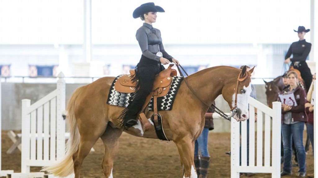 Fisher named NCEA Horsemanship Rider of the Month
