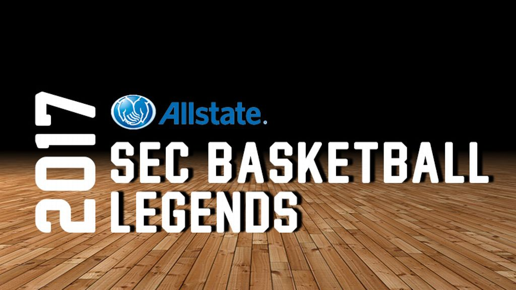 2017 Allstate® SEC Basketball Legends announced