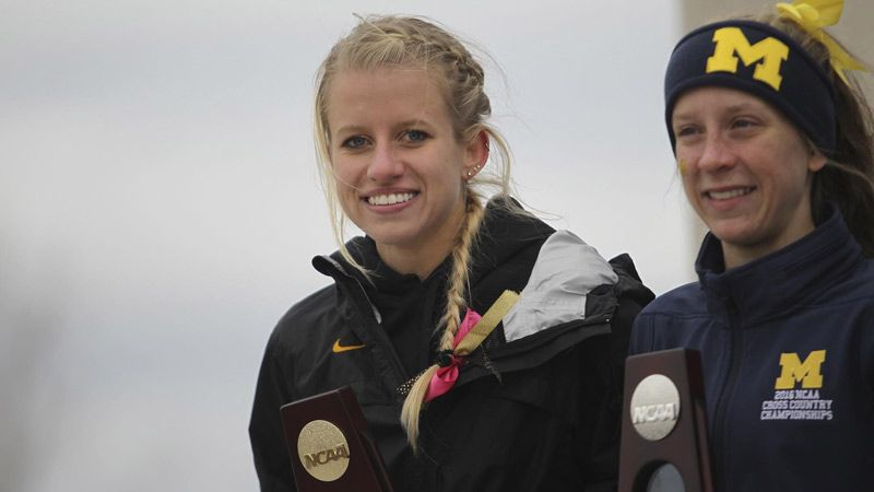 Schweizer named USTFCCCA Scholar Athlete of the Year