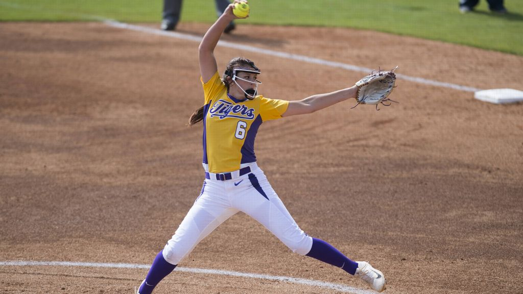 LSU earns two run-rule wins to open Mary Nutter Classic