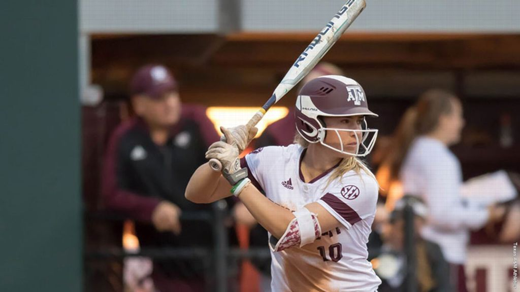 No. 18 Aggies sweep No. 14 Michigan, BYU