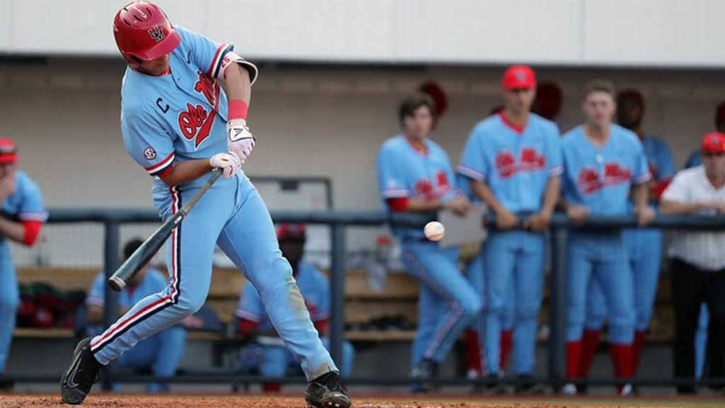 No. 14 Rebels fall in extra innings