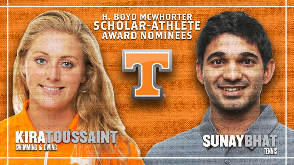 Tennessee nominees for McWhorter scholarships