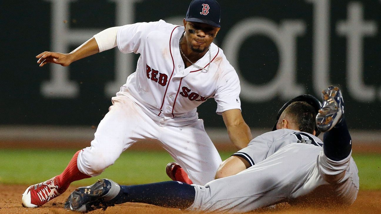 Boston Red Sox play under protest vs. New York Yankees