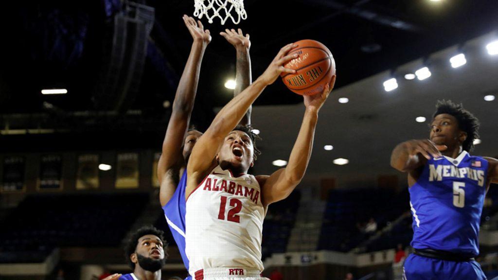Alabama slides past Memphis 82-70