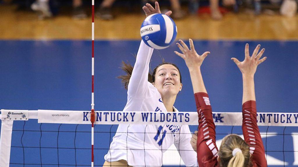 No. 6 Kentucky sweeps ETSU 3-0
