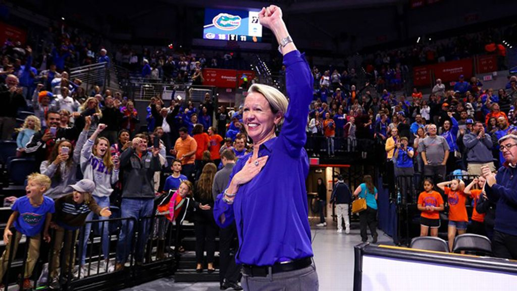 UF's Wise named AVCA National Coach of the Year