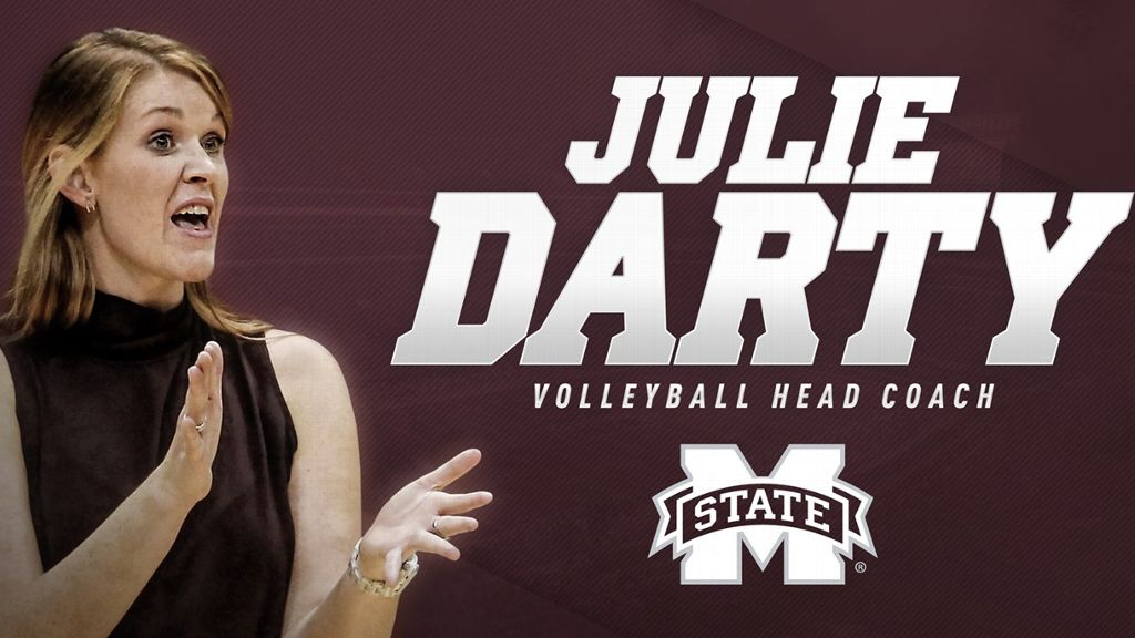 Julie Darty named volleyball coach at Mississippi State