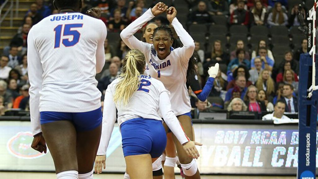 UF's Alhassan named volleyball's Honda Award winner