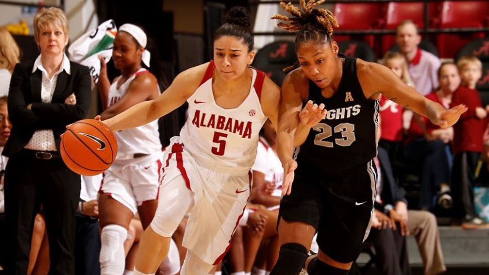 Alabama beats UCF 80-61 in second round of WNIT