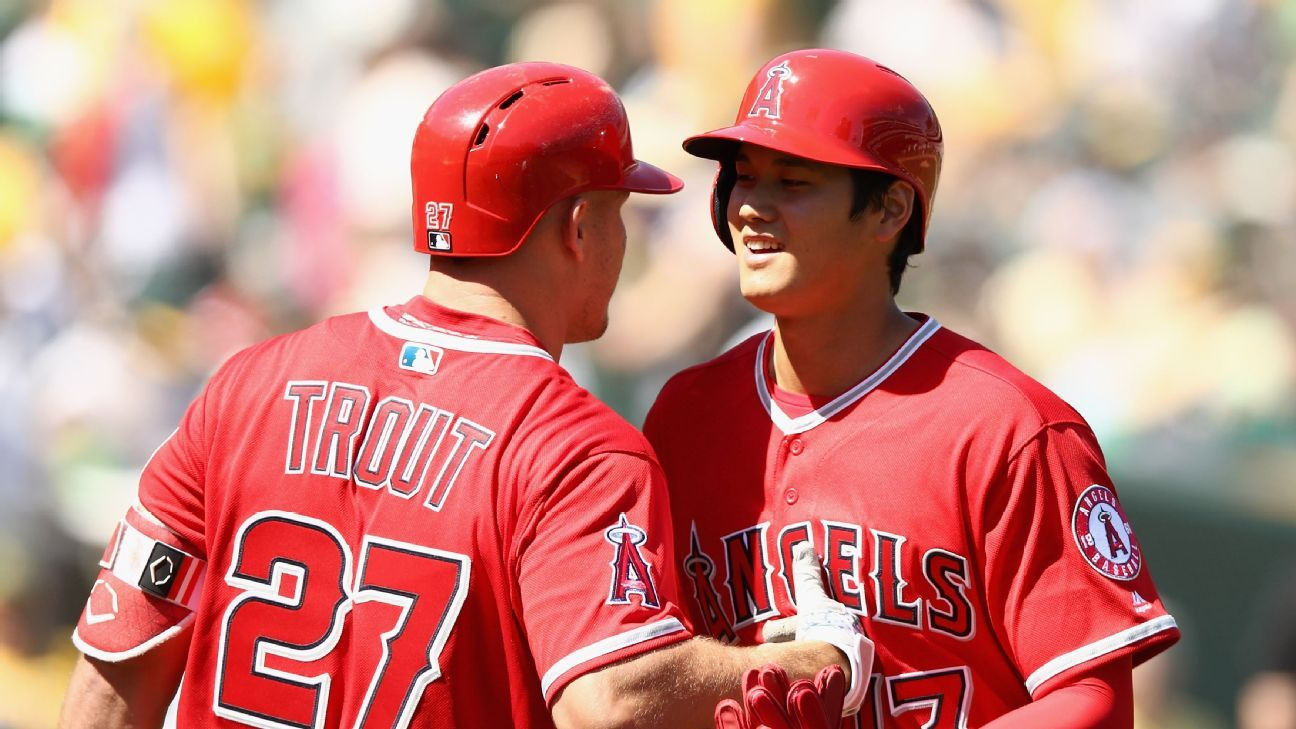 Mike Trout, Shohei Ohtani Batting 1-2 For Los Angeles Angels
