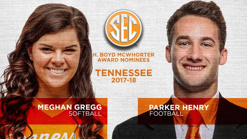 Tennessee nominees for McWhorter Award announced