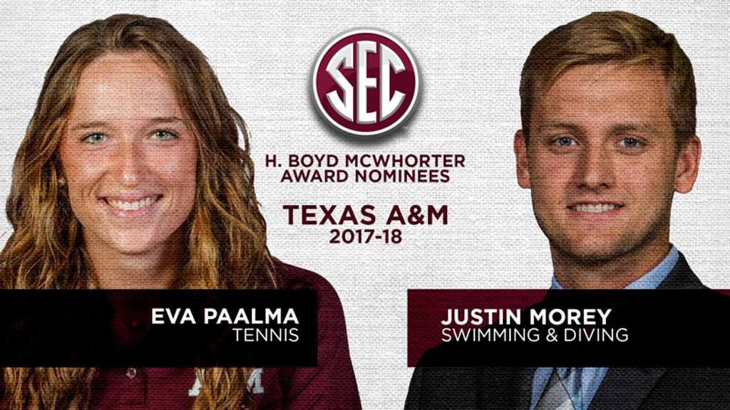 Texas A&M nominees for McWhorter Award announced