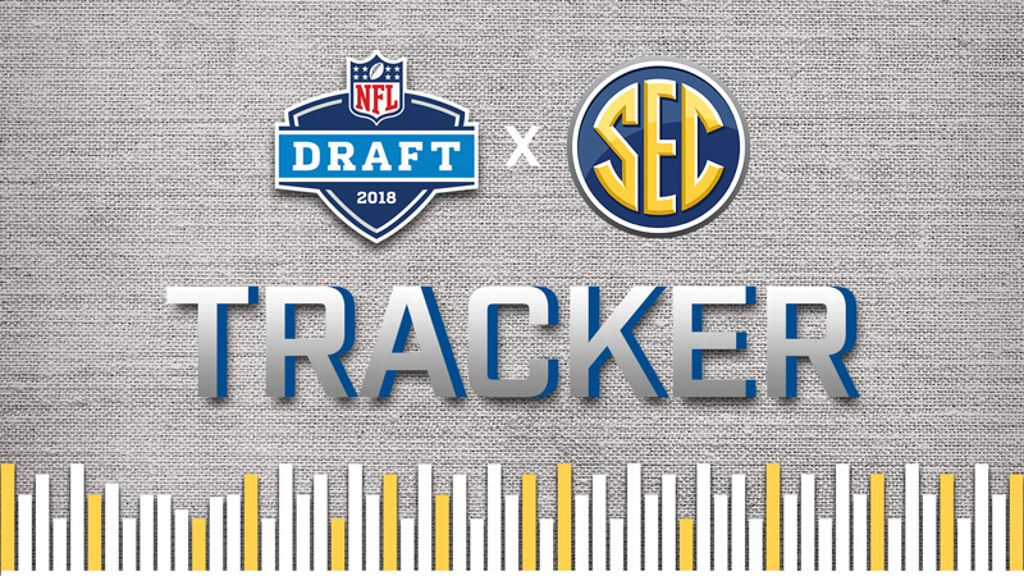 53 SEC players selected in NFL draft