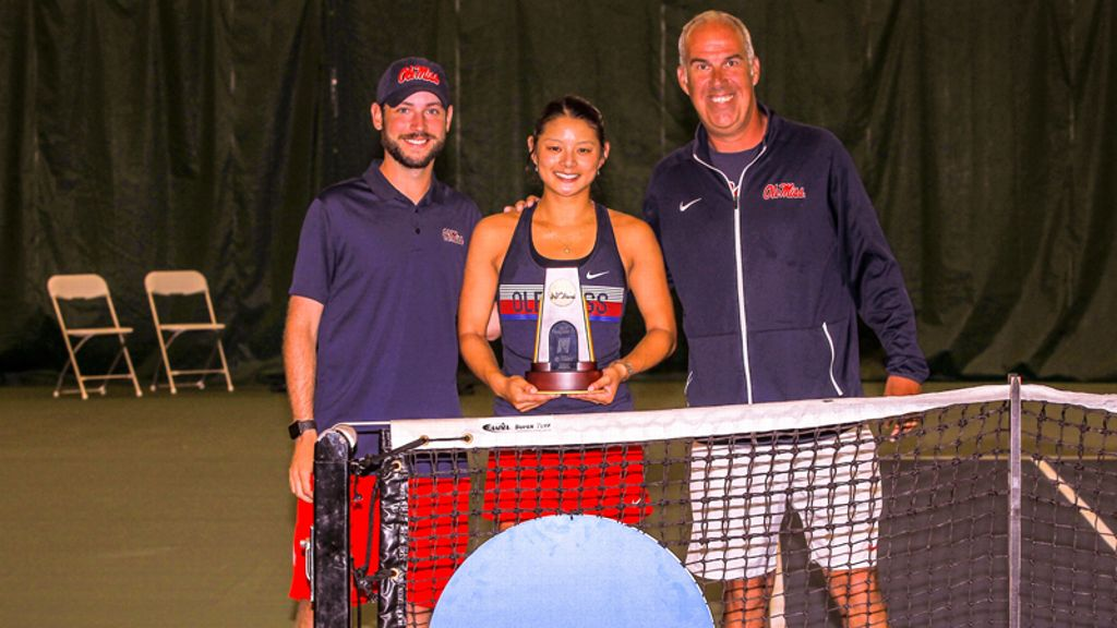 Ole Miss' Arianne Hartono wins National Championship