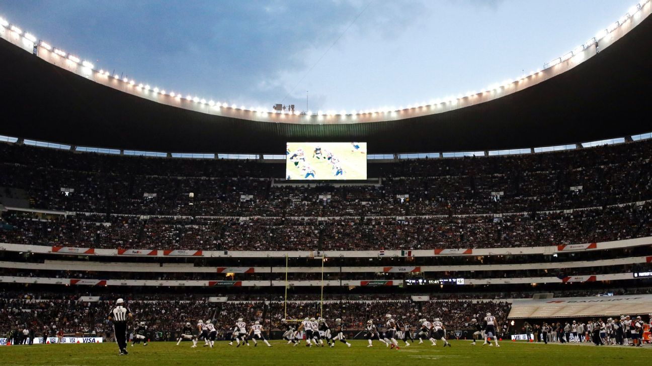 "NFL Mexico announces ""successful"" presale for match at the Azteca"
